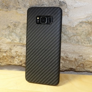 Чехол накладка Pitaka MagCase Aramid для SAMSUNG GALAXY S8 Plus, carbon